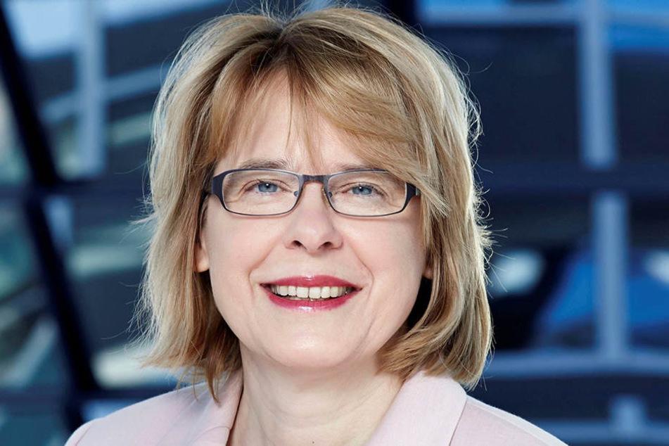 Die CDU-Bundestagsabgeordneten Bettina Kudla (54).