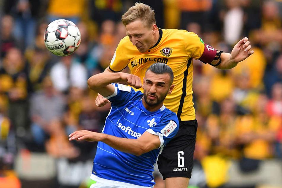 Fällt Sonntag gegen den FC Ingolstadt vermutlich aus: Kapitän Marco Hartmann (oben).