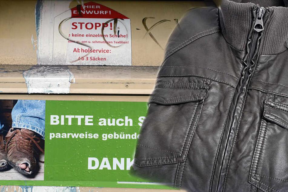 Bitter: Mit der Jacke entsorgte die Frau auch Tausende Euro.