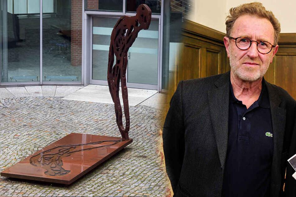Michael Morgner ist erster Preisträger des Schmidt-Rottluff-Kunstpreises. Er ist unter anderem bekannt für seine bildhauerische Tätigkeit.