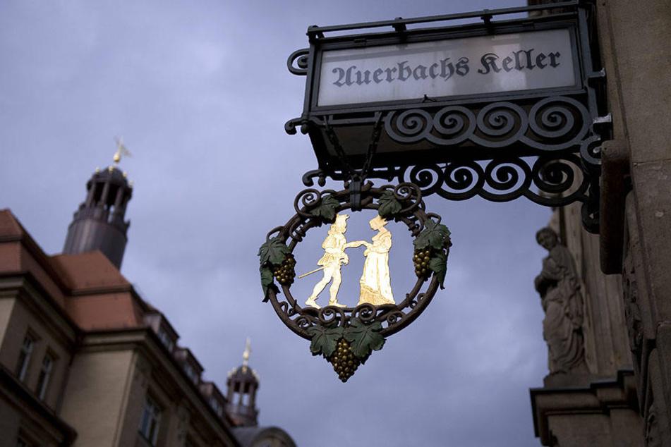 """""""Auerbachs Keller"""" bewirtet zwar schon seit 491 Jahren Gäste, führt aber erst seit 1851 regelmäßig Buch darüber."""