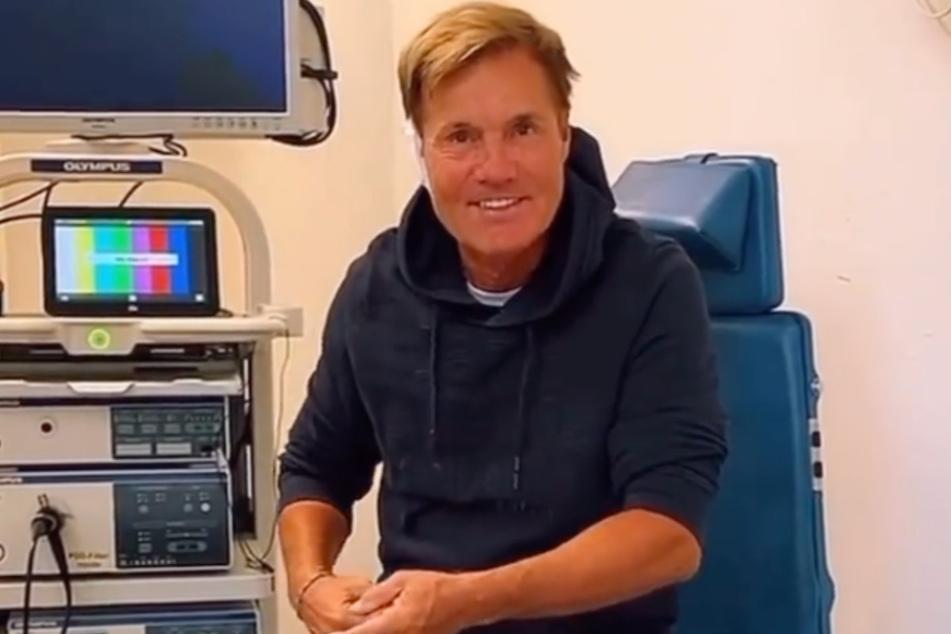Für jeden Spaß zu haben: Dieter Bohlen (67) unterzieht sich einem Bluttest der besonderen Art.