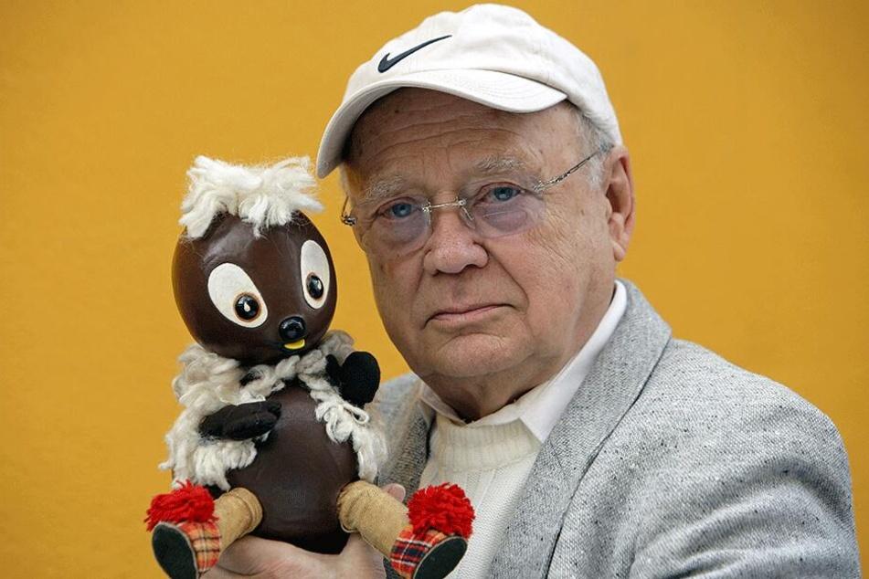 Der 2009 verstorbene Heinz Schröder lieh dem Kobold Pittiplatsch 47 Jahre lang seine Stimme.