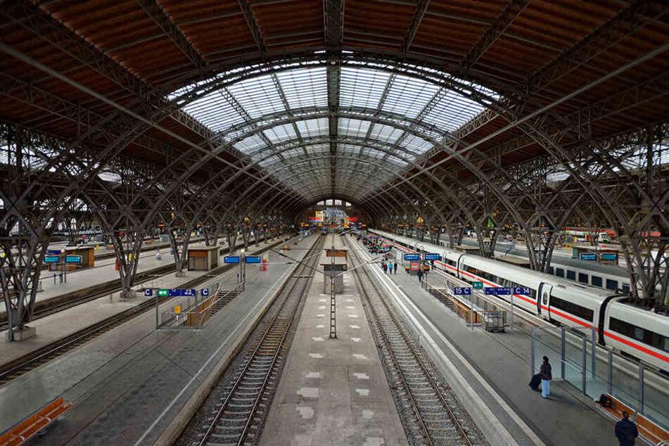Der Leipziger Hauptbahnhof wird für vier Tage komplett gesperrt.