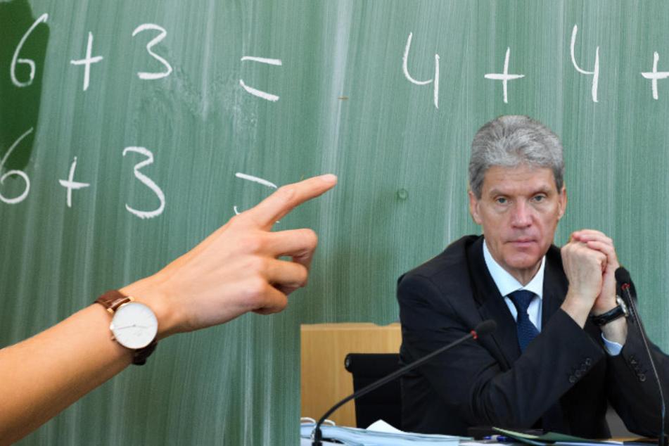 Der Lehrerverband setzt den Thüringern Kultusminister Helmut Holter unter Druck. Mehr unbefristete Lehrer werden gefordert (Symbolbild).