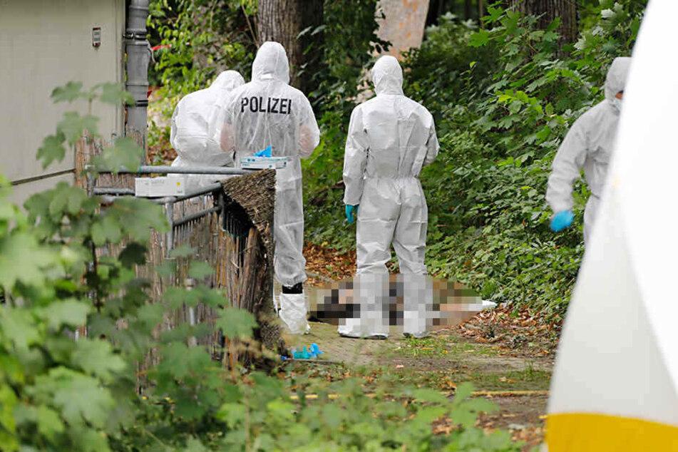 Im Stadtpark wurde am 11. September die Leiche eines Mannes gefunden.