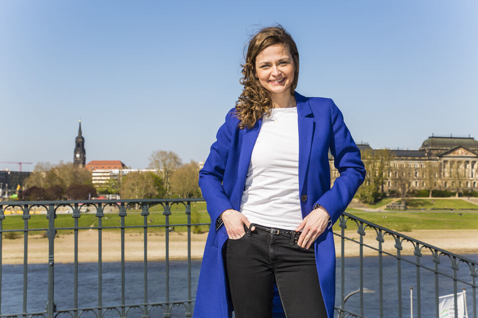 Citymanagerin Friederike Wachtel (32).