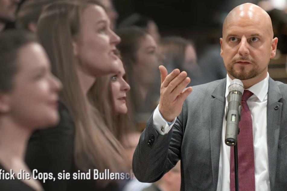 AfD-Mann Räpple klinkt sich in Umweltsau-Shitstorm gegen den WDR ein