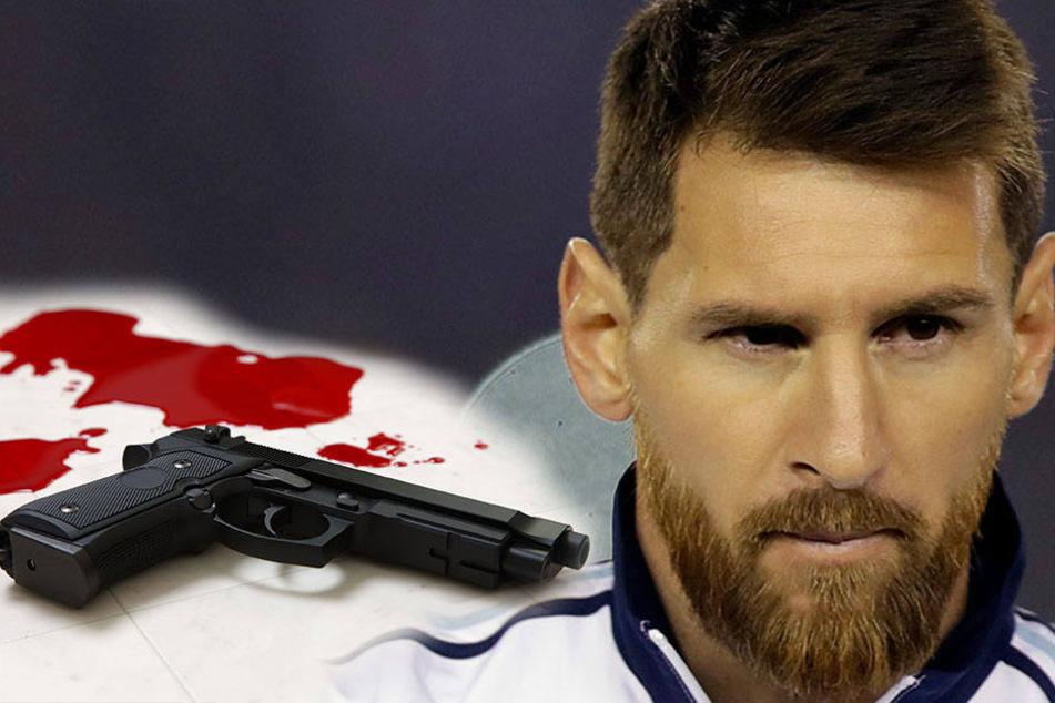 Was hat Lionel Messi damit zu tun? Waffe in blutverschmiertem Boot gefunden