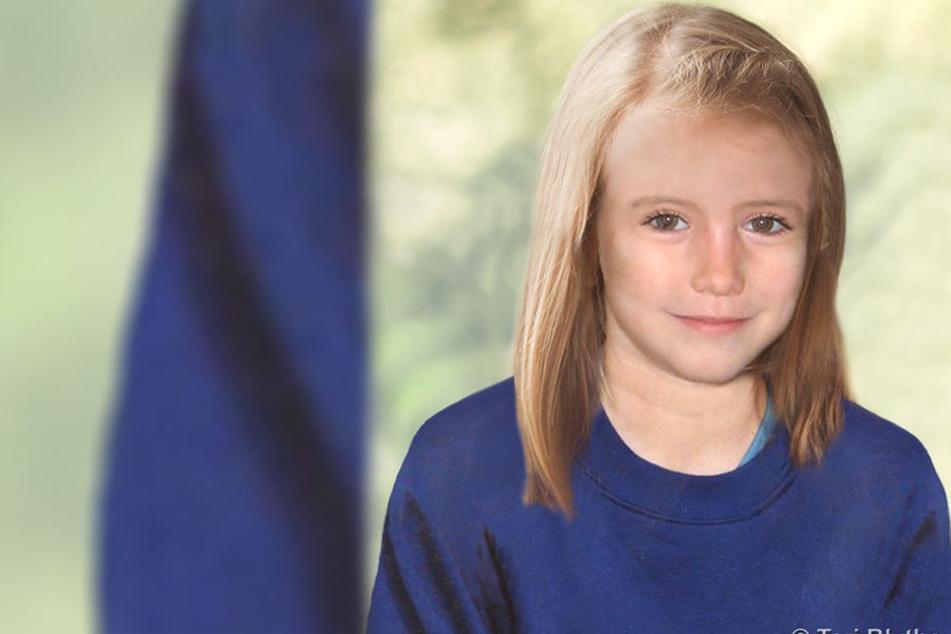 So könnte Maddie McCann einem Alterungsbild von Scotland Yard zufolge mit neun Jahren ausgesehen haben.
