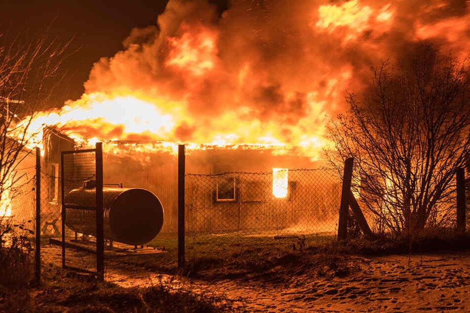 In diesem Flammeninferno kamen zwei Menschen ums Leben.