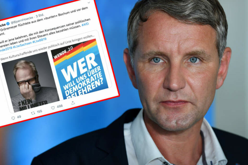 Björn Höcke bekam auf Twitter wenig Zustimmung für seine Aussagen.