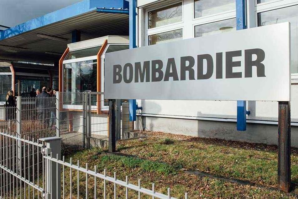 Das Görlitzer Bombardier-Werk mit 1900 Mitarbeitern wird zum Restwerk, so die Befürchtung.