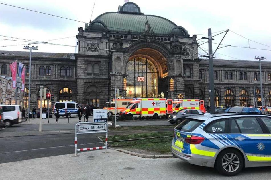 Großeinsatz in Nürnberg: Bombendrohung gegen ICE