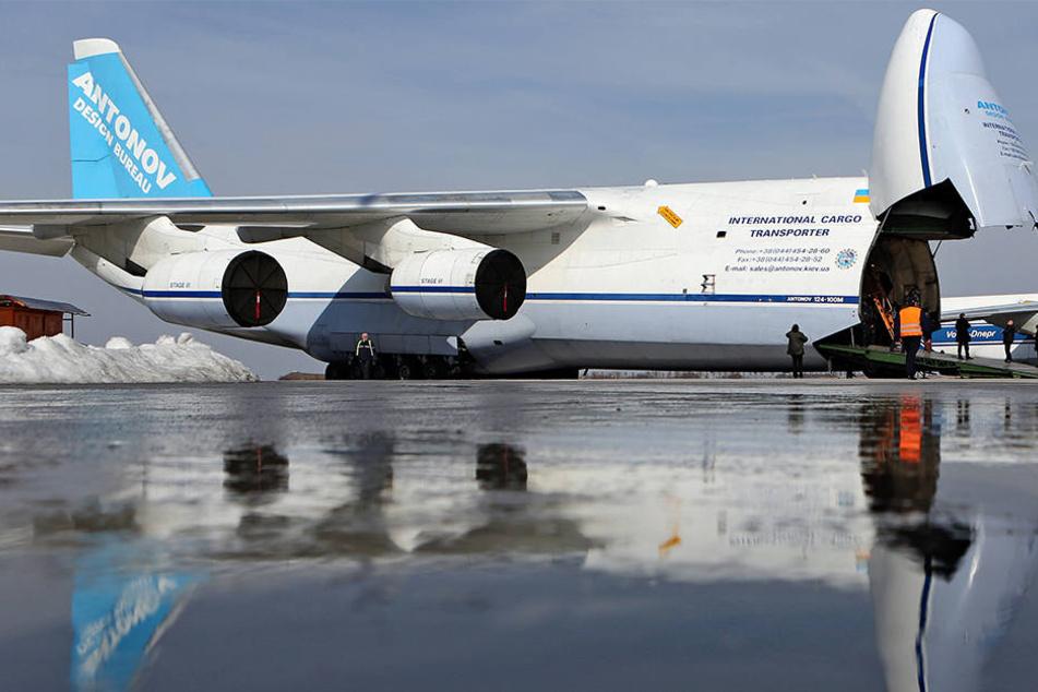 Im Rahmen des Salis-Projekts flogen russisch-ukrainische Antonov-Maschinen Militärtransporte für Nato und EU in Krisenregionen.