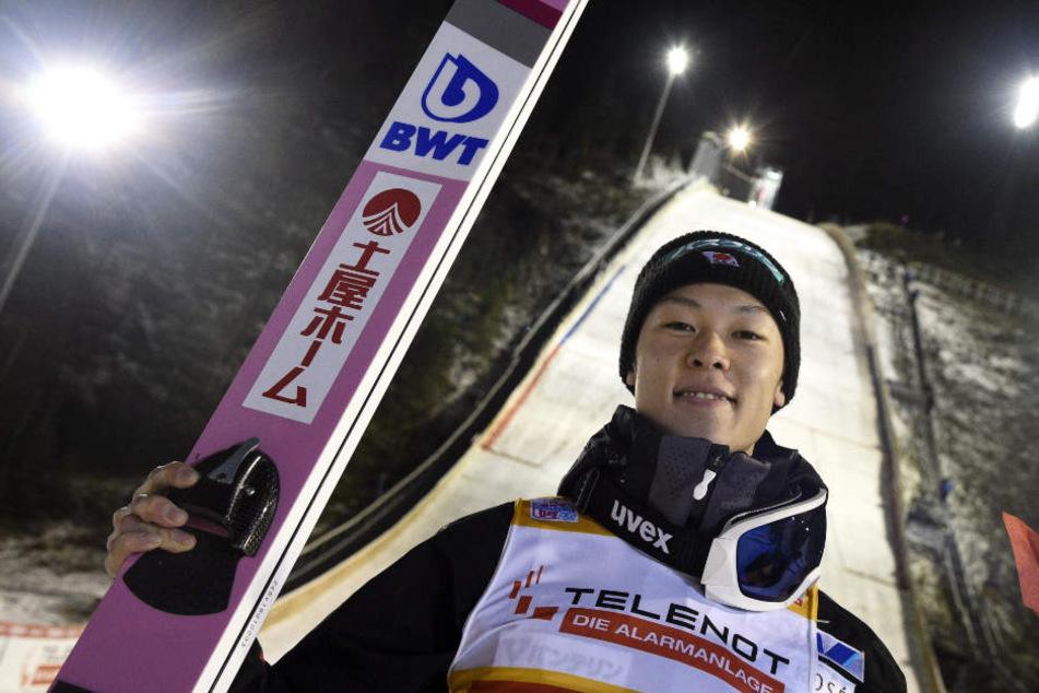 Ryoyu Kobayashi gilt als Top-Favorit bei der Vierschanzentournee 2018/19.