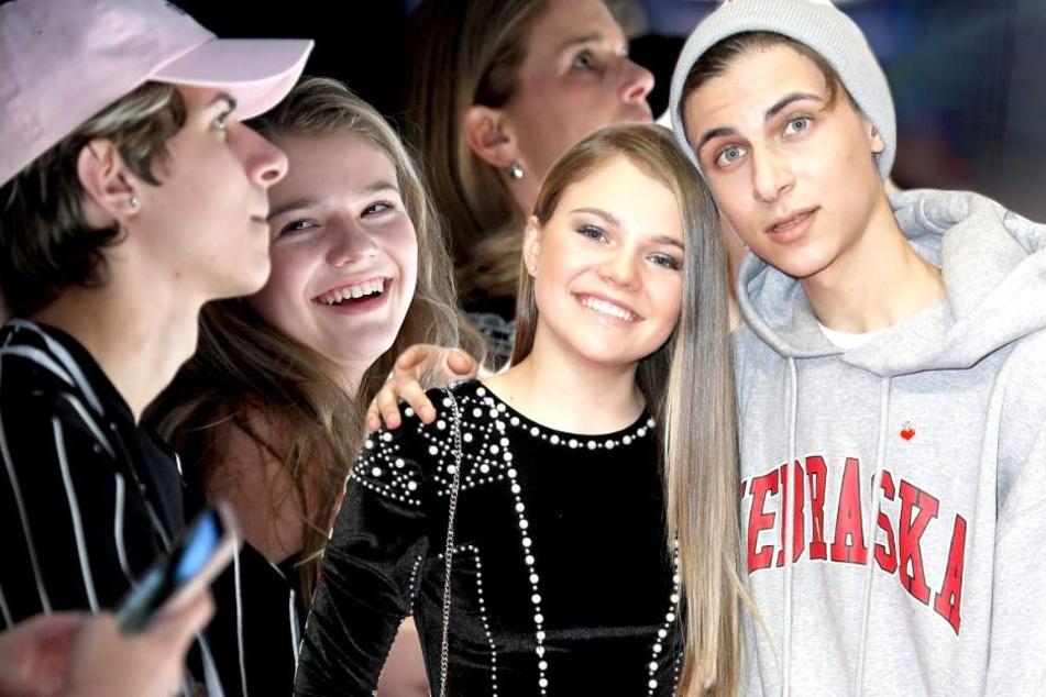 Jetzt ist es raus: Faye Montana (15) und Lukas Rieger (19) sind ein Paar.