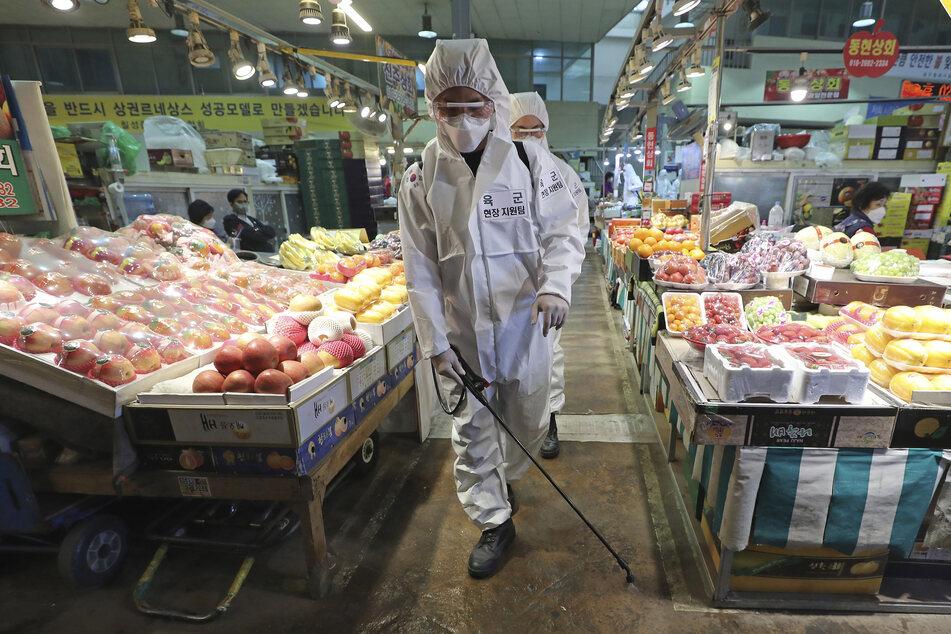 Coronavirus: Zahl der Neuinfektionen in Südkorea fällt weiter