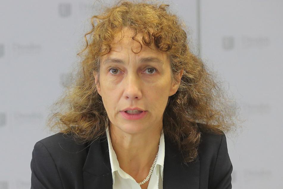 Lioba Buscher (52) ist Dresdens Statistik-Chefin.