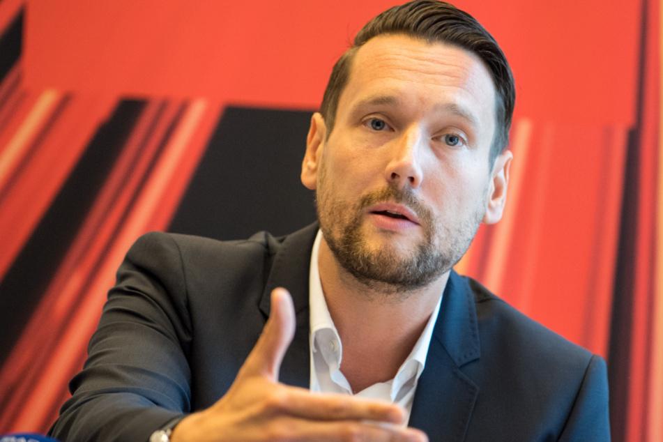 SPD-Generalsekretär Daniel Stich (Archivbild).