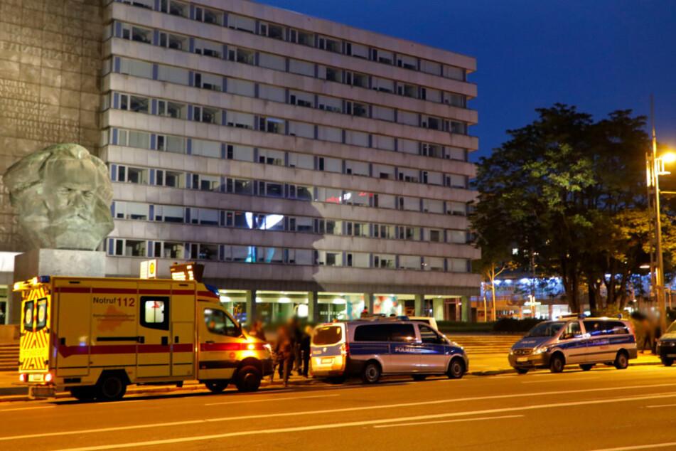 Chemnitz: Polizeieinsatz nach brutaler Attacke im Chemnitzer Zentrum