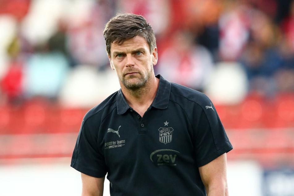 Torsten Ziegner ist ab der neuen Saison Trainer vom HFC.