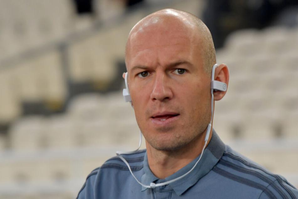 Arjen Robben wird gegen Liverpool wegen einer Verletzung fehlen.