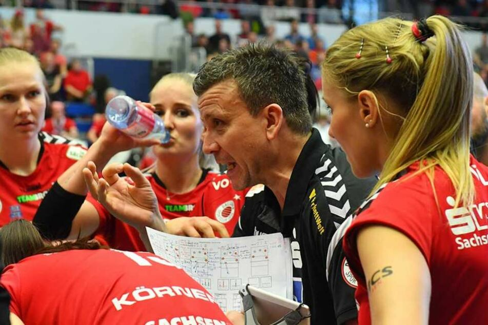 Trainer Alexander Waibl will, dass seine Spielerinnen diesmal alles aus sich raus holen.