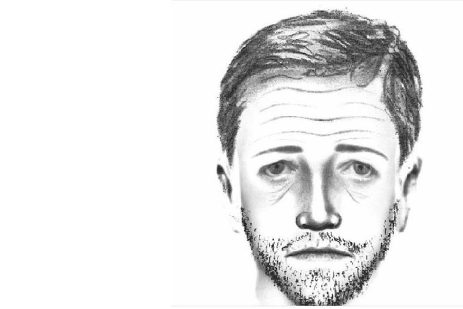 Vorsicht, vor diesem Mann. Die gesuchte Person war bei dem Raubüberfall in Pirna bewaffnet.