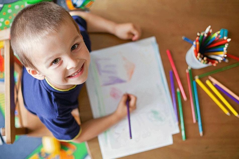 Auf geht's: Im nächsten Jahr sollen viele fröhliche Kinderbilder den berühmten Weihnachtsmarkt zieren.