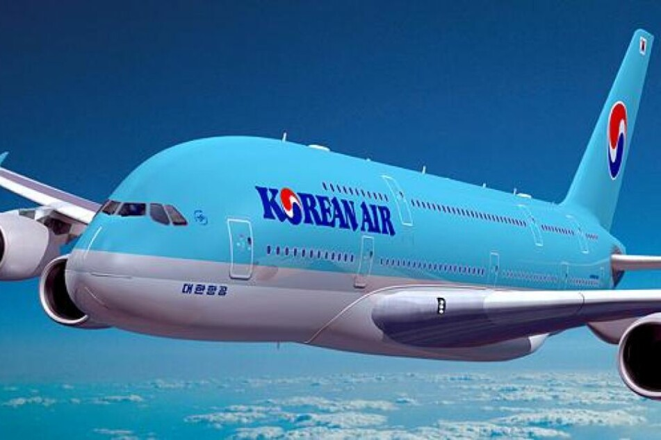 Das Flugzeug der Korean Air musste in Stuttgart zur Landung gezwungen werden. (Symbolbild)