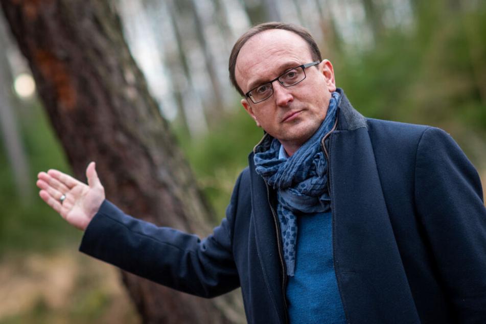 SPD-Stadtrat Jörg Vieweg (48) kritisiert die Fäll-Aktion.