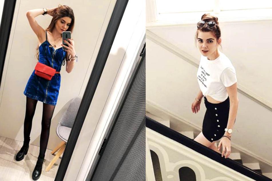 Diese Bilder von Klaudia Giez (22) besorgen ihre Fans.