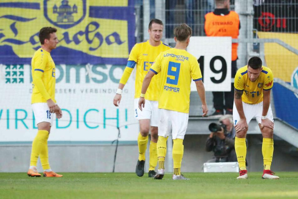 Filmreifer Abflug: Der 1. FC Lok Leipzig hat am Freitagabend klar mit 0:3 beim SV Babelsberg verloren. (Archivbild)