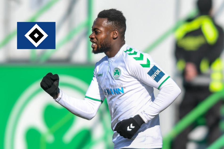 HSV holt sich Khaled Narey von Liga-Konkurrenten
