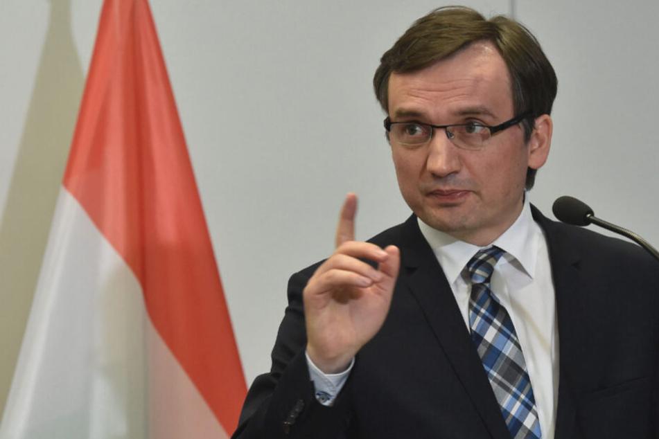 Mann plante Auftragsmord an Polens Justizminister