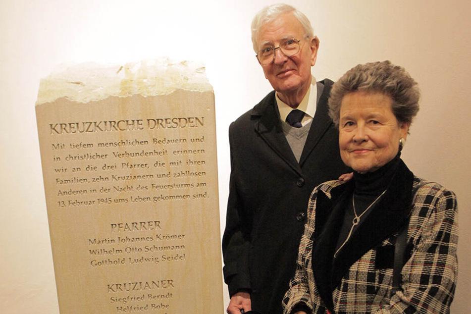 Alan Russell, hier im Jahr 2012 in der Kreuzkirche, starb jetzt im Alter von 86 Jahren.