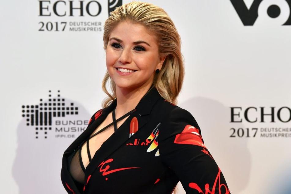 Die Schweizer Sängerin kam zur diesjährigen Echo-Verleihung im April schon deutlich schlanker.