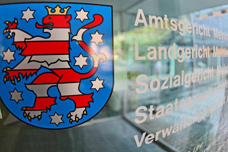 Am Landgericht Meiningen startete der Prozess gegen das Dealer-Pärchen.