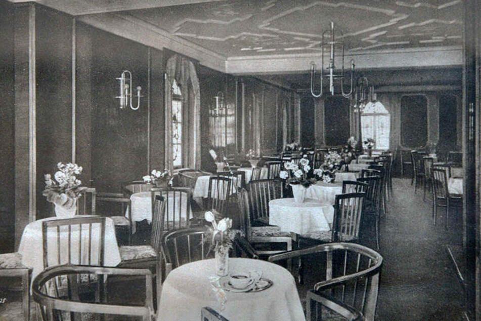 """Was für eine Pracht: Das """"Belvedere"""" eröffnete 1923 und avancierte schnell zum Kult-Lokal."""