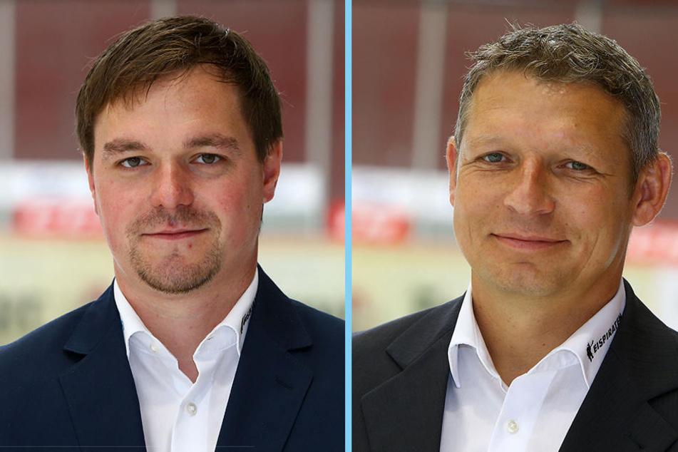 Jörg Buschmann (l.) und Ronny Bauer