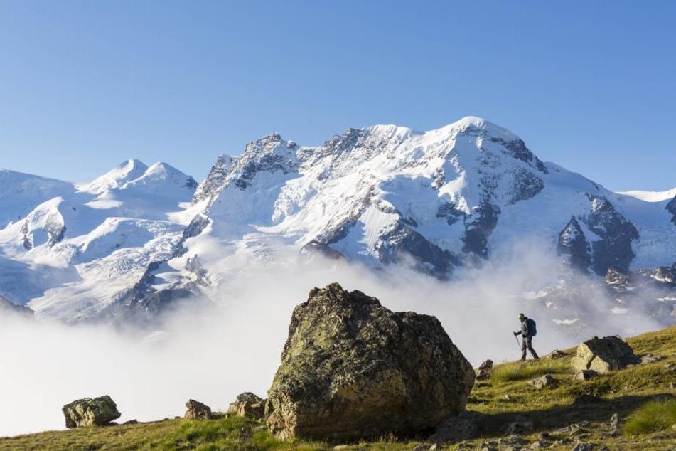 Das Unglück ereignete sich am Monte-Rosa-Massiv in den Schweizer Alpen.