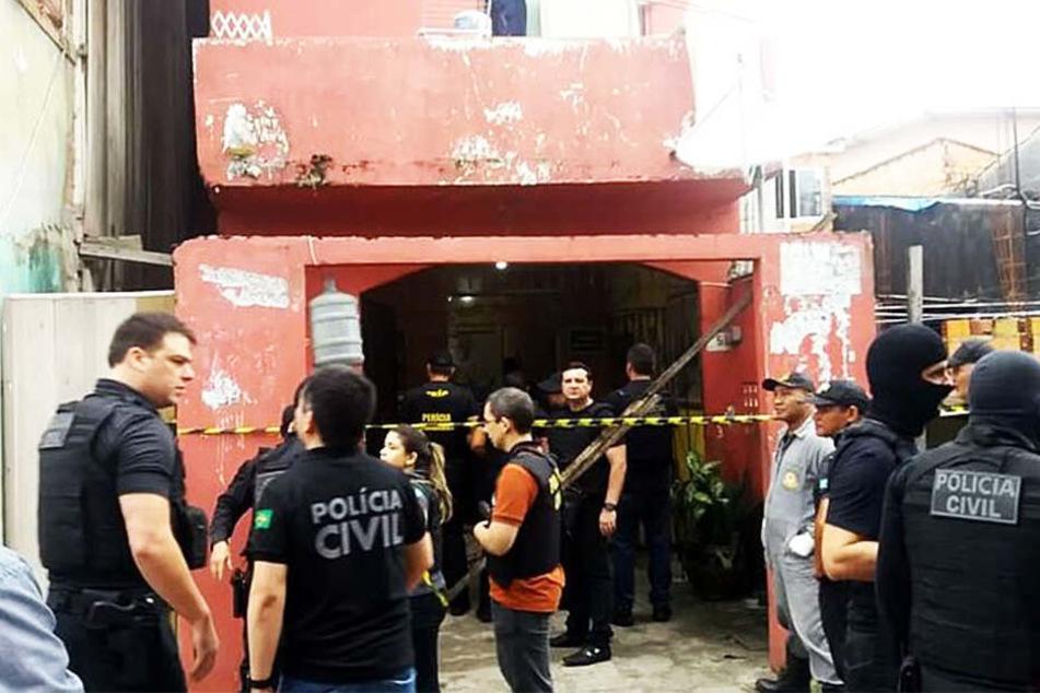 In einer Bar in der brasilianischen Großstadt Belém haben Unbekannte elf Menschen erschossen.