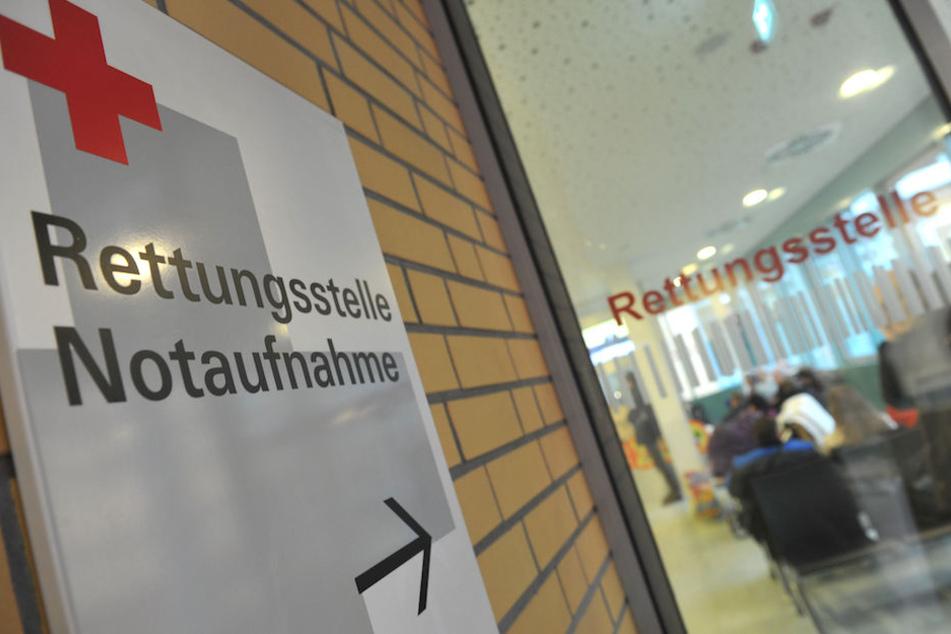 Mit schweren Verletzungen wurde die Frau in ein Berliner Krankenhaus eingeliefert. Symbolbild)