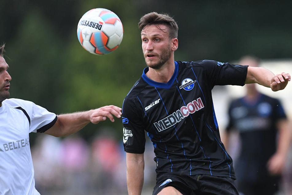 Dino Medjedovic darf am Abend gegen den FC Lennestadt 09 ran.