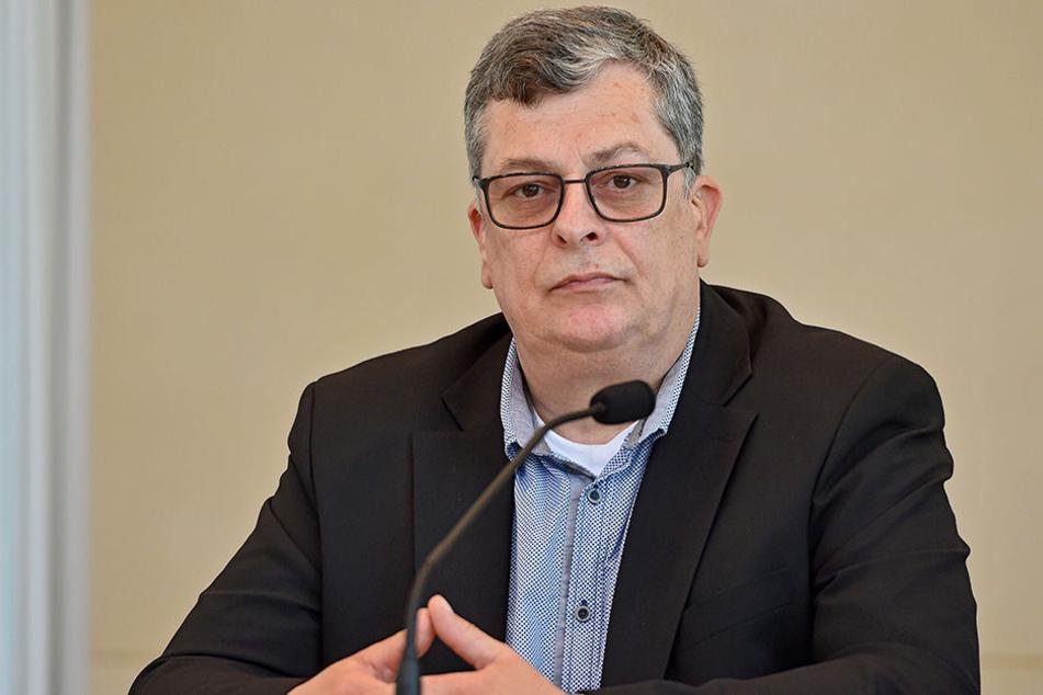 AfD-Mann Carsten Hütter (54) will die Antifa verbieten.