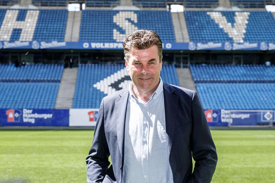 Dieter Hecking (54) soll den HSV zurück ins Oberhaus führen.