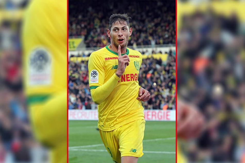 Der argentinische Fußballspieler Emiliano Sala (28) wird seit rund einer Woche vermisst.