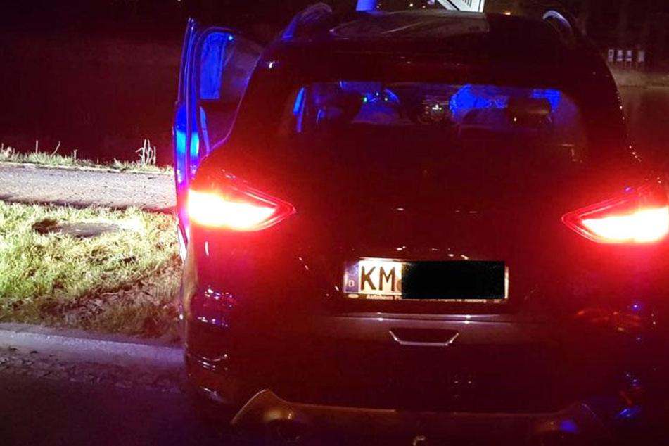 Dieser blaue Ford Kuga ging der Polizei ins Netz.