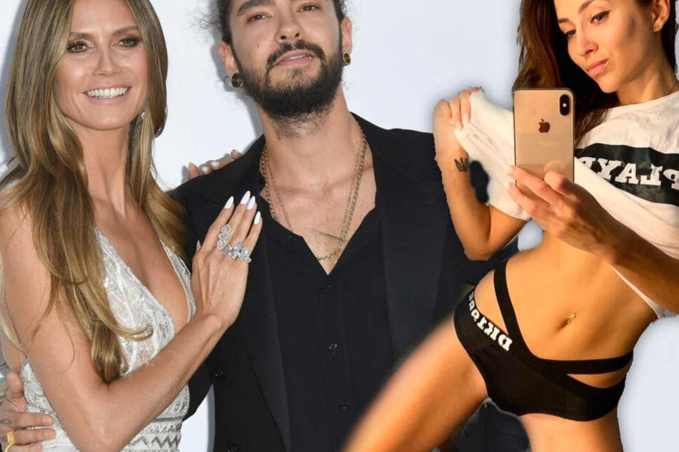 """""""Temptation Island""""-Kandidatin Anastasiya Avilova (Re.) scheint nicht viel von der Liebe zwischen Heidi Klum und Tom Kaulitz zu halten."""